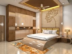 Bedroom Cupboard Designs, Wardrobe Design Bedroom, Luxury Bedroom Design, Bedroom Furniture Design, Master Bedroom Design, Home Interior Design, Bedroom Decor, Wardrobe Bed, Wooden Wardrobe