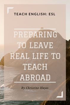 Prepare for Teaching English Abroad with 3 Necessary Steps - 2019 globalU Teaching English Online, English Teachers, International Teaching, Tefl Certification, Work Abroad, Teaching Jobs, Best Teacher, Lesson Plans, Real Life
