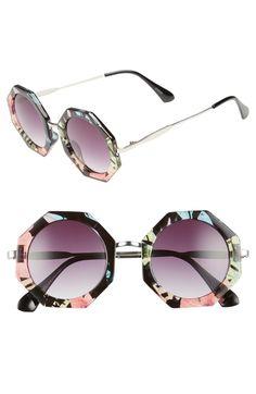 b197d74ab4f BP. 54m Hexagonal Sunglasses