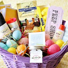 Boyfriend easter basket alternative easter baskets easter and fill your hubbys easter basket with some sassy treats thatll have you hopping into negle Image collections