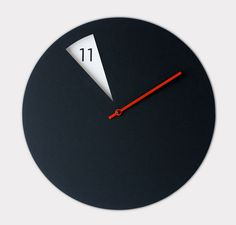 Horloge FreakishCLOCK par Sabrina Fossi - Blog Deco Design