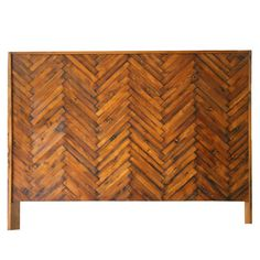 My design inspiration: Herringbone Headboard F/Q on Fab.