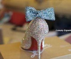 Cinderella's glass slipper...