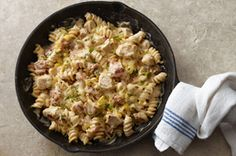 Southwest Pasta Skillet. Was yummy. We love the Philly Cooking Sauces!--A