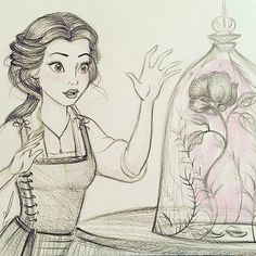 More beautiful Disney artwork