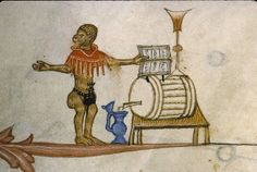 Winemaker. Pontifical de Guillaume Durand, MS 143, 14th c., fol. 172. Paris…