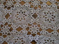 Vintage Hand Crochet Table Runner