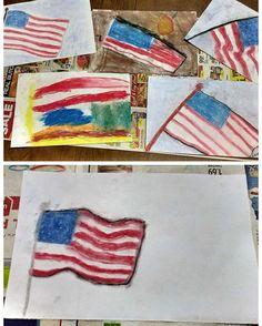 Chalk Pastels, Art Tutorials, American Flag, Flags, Profile, Touch, My Love, Children, Link