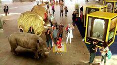 Op 28 augustus 2013 waren de bezoekers van Rotterdam Centraal getuige van een bijzondere gebeurtenis... Een Augmented Reality show in de stationshal! National Geographic Nederland-België maakt dit mogelijk i.s.m. ProRail en de NS om het 125 jarig bestaan van de National Geographic Society te vieren. Wil je het zelf meemaken? De Augmented Reality show is t/m maandag 2 september elke dag in Rotterdam te bewonderen van 16.00 uur tot 19.00 uur.