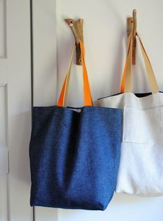 The Forty Minute Tote sewing tutorial - for the dance bags