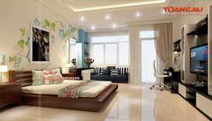 kệ tivi gỗ gụ, giường thấp
