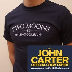 Super Punch: John Carter of Mars t-shirt from Last Exit to Nowhere