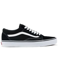 Unisex Sizing: Men's 5.5 = Women's 7 The Old Skool, Vans classic skate shoe and the first to bare the iconic side stripe, has a low-top lace-up silhouette with a durable suede and canvas upper with pa