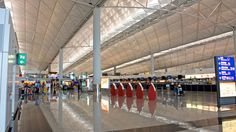Aeropuerto Internacional de Hong Kong, China