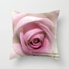 So Show your Beauty Throw Pillow by F Photography and Digital Art - $20.00
