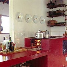 Weight Management - BE Decoration Decor, Rocket Stoves, Summer Kitchen, Traditional House, Home Kitchens, Outdoor Stove, Outdoor Kitchen, Wood Stove Fireplace, Kitchen Design