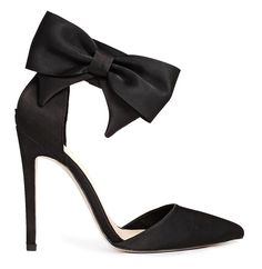 ASOS 'Picture Perfect' high heels with bow ankle strap > price 87.08.. these are oh so dainty ...