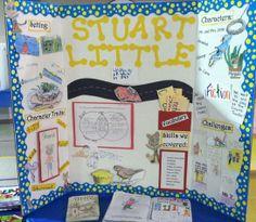 Stuart Little reading fair display board Book Report Projects, Reading Projects, Fair Projects, Book Projects, Reading Fair, Reading Library, Kids Activity Books, Book Activities, Book Tasting