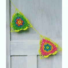 Boho Blossom Garland Crochet