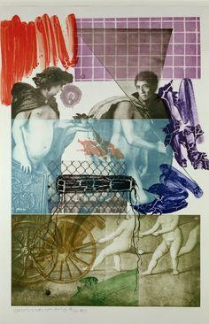 Bellini 5, by Robert Rauschenberg