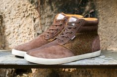 Harris Tweed x Clarks Torbay Point Sport Boot Wish I knew about these when they came out!