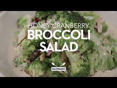 Hearty Cranberry Honey Broccoli Salad | Paleo, Grain-Free, Vegetarian