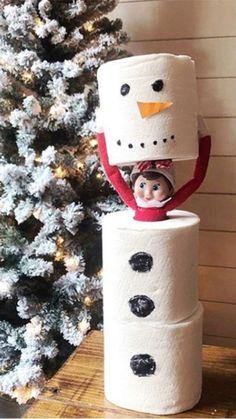 Christmas Elf, Christmas Crafts, Christmas Spider, Christmas Ideas, Christmas Lanterns, Christmas Decorations, Dobby The Elf, Awesome Elf On The Shelf Ideas, Elf Magic
