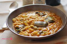 Cuchillito y Tenedor: Arroz y habichuelas. Receta tradicional murciana.