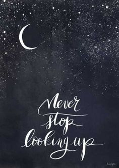 Motivation Quotes : Lune Sombre et Lâcher prise. - About Quotes : Thoughts for the Day & Inspirational Words of Wisdom Inspirational Quotes For Teens, Great Quotes, Quotes To Live By, Inspiring Quotes, Positive Quotes For Teens, Positive Sayings, Goodnight Quotes Inspirational, Look Up Quotes, Goodnight Moon Quotes