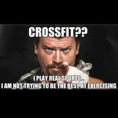 Ahh hahaha had to post this for my cross fitting hubby