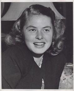 Young Ingrid Bergman, 1940s