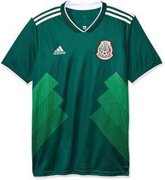 904f9ce24d082 Jersey Oficial Selección de México Local para Hombre  Amazon.com.mx   Deportes y Aire Libre