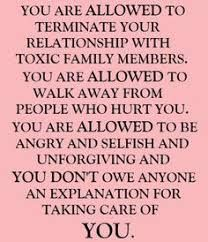 Toxic Family Quotes on Pinterest