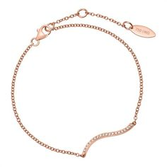Armband aus 750er Roségold mit 20 Diamanten 0,08 ct. https://www.thejewellershop.com/ #armband #bracelet #roségold #diamanten #diamonds #gold #jewelry #schmuck #diamant #diamond