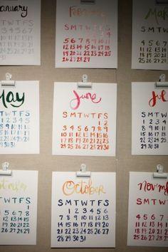 Want. this. calendar. By Linda & Harriett