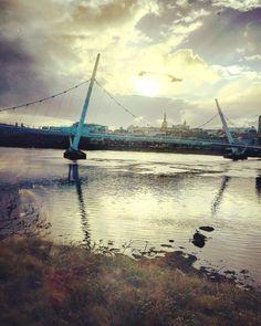 Peace Bridge Londonderry Northern Ireland
