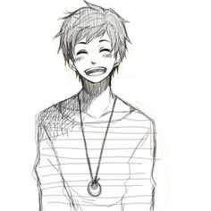 Smile Anime Boy Comic