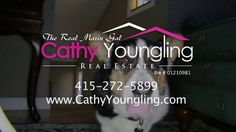 Cathy Youngling The Real Marin Gal. My nosy dog steals the show