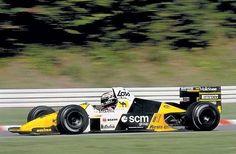 f1 Luis Perez-Sala-Minardi M189-Ford Cosworth DFZ V8-1989