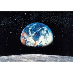 Wall Mural Earth from Moon