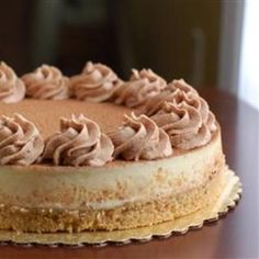 Tiramisu Cheesecake-  I love tiramisu, I need to try this soon.