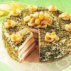 Velikonoční dort s marcipánem