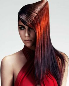 Sharon Peake and Adam Bryant – 2013 Schwarzkopf Professional Colour Technicians of the Year Finalist-pin it by carden Look Star, Avant Garde Hair, Retro Hairstyles, Fantasy Hairstyles, Schwarzkopf Professional, Extreme Hair, Full Hair, Hair Reference, Crazy Hair