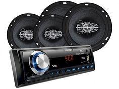 Som Automotivo Multilaser Wave Fiesta - MP3 USB Entrada SD e Auxiliar + Kit Instalação com as melhores condições você encontra no Magazine Lightsaint. Confira!