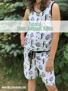 Tutorial aus dem gratis Schnittmuster Strandkleid ein Jumpsuit nähen Ebook / DIY kostenlose Anleitung