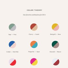 PaintBox Favorite 2017 Color Combinations