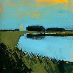 Paul Bailey 'Still Waters' Canvas Art