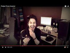 Pledger Phone Surprise! - YouTube