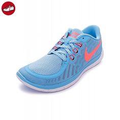 Nike Laufschuhe Flex 2015 Run (GS) Damen white bright crimson lakeside 365 weiss