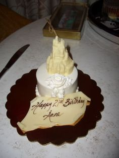 21st Birthday Cake Idea   WDW January 2012